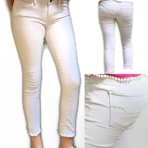 American Eagle Outfitters blush super stretch sz 4